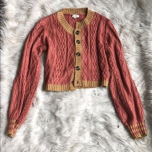 For Love and Lemons knit sweater